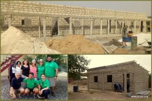 Nouvelles constructions et une visite importante