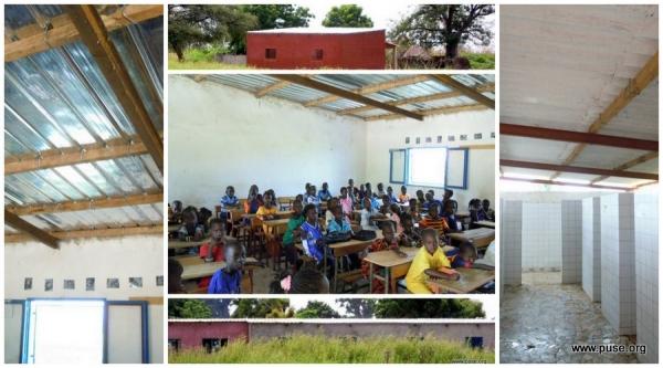 Aulas y colegio