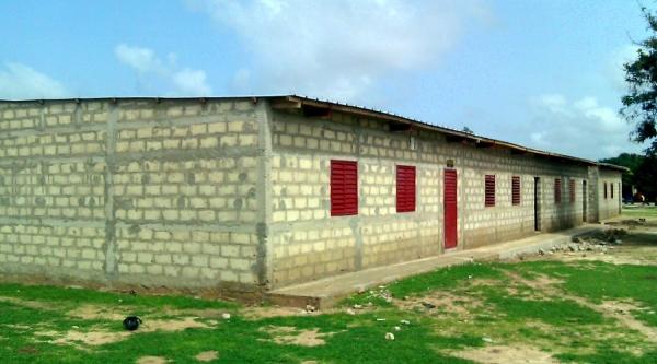 Nuevas aulas Colegio Gouy Mouride
