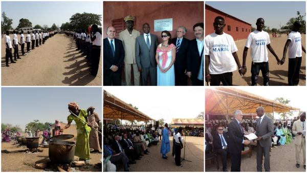 Inauguración Escuela Secundaria Louly Bentegné
